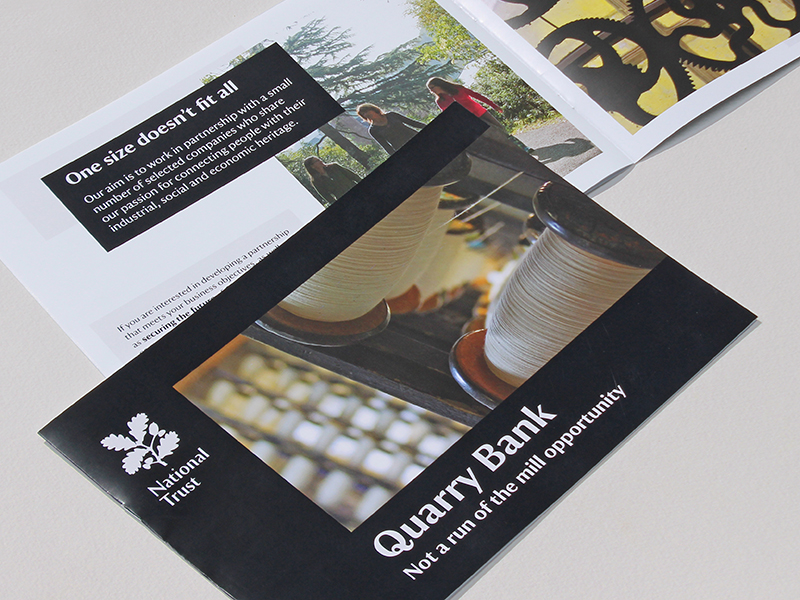 A Quarry Bank Project to help raise 1.9 million, includes signage, display, interpretation, banners and leaflets.